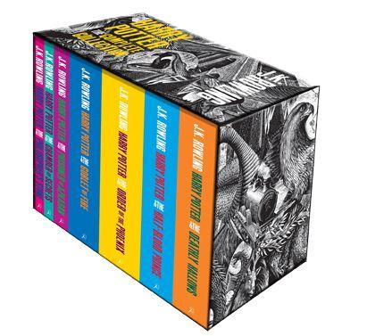 Harry Potter   Harry Potter Boxed Set: Adult Paperback Edition by J.K. Rowling - Andrew Davidson