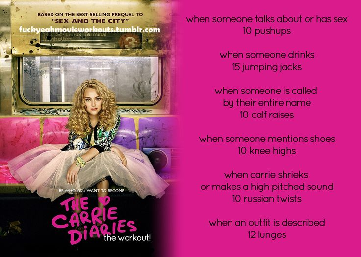 Carrie Diaries Workout