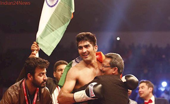 No opponent coming through, Vijender Singh's next bout postponed