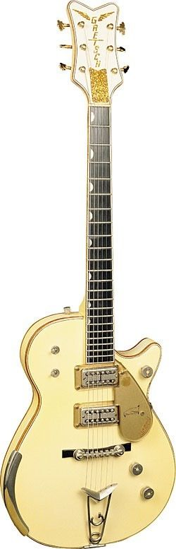 Gretsch White Penguin 1958 => only a few dozen were made between 1955-1964