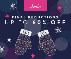 ​Final Reductions in the Joules Sale! Up to 60% Off Clothing & Accessories