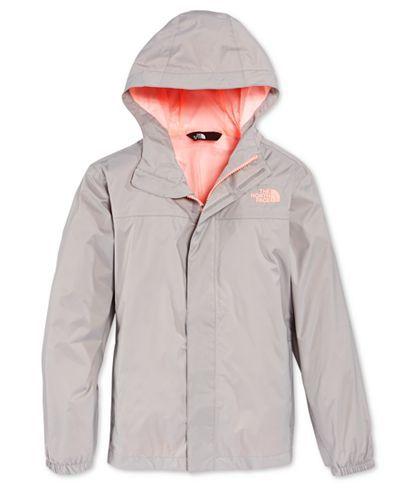 The North Face Girls' or Little Girls' Zipline Rain Jacket - Coats & Jackets - Kids & Baby - Macy's