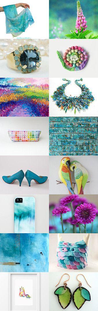 Summer Time by Marlena Rakoczy on Etsy--Pinned with TreasuryPin.com