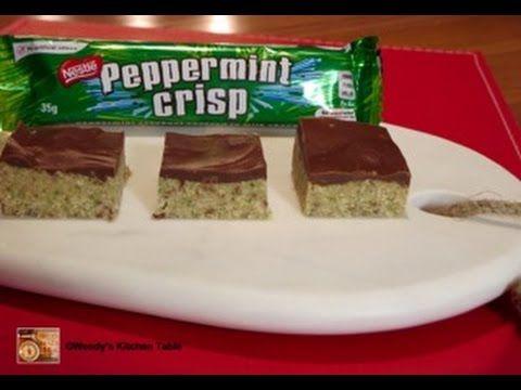 Wendys Kitchen Table | Peppermint Crisp Slice