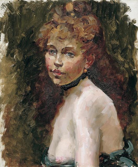 Edouard Manet: Mery Laurent by deflam, via Flickr