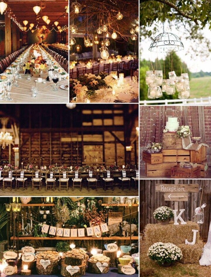 Beautiful Fall Rustic Wedding Theme M