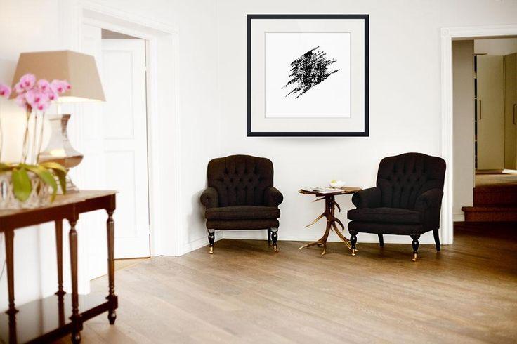 """Signature 06""  (2016) by Paucian Marius (pmabstractart); #art #abstract #signature #print #framed #buy"