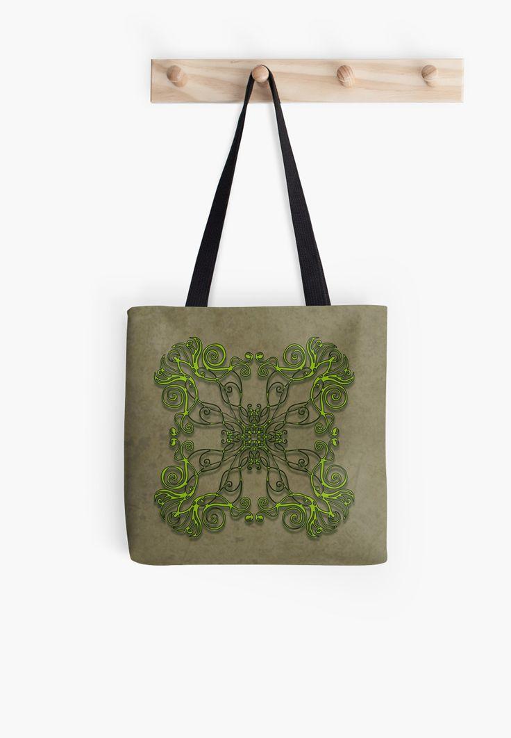 Spell 1 - Grow Fae spells collection  celtic faery fae magic flourish mandala zentangle symmetry artrage nature