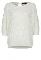 Selected Femme ALLETTE - Stickad tröja - Vitt - Zalando.se