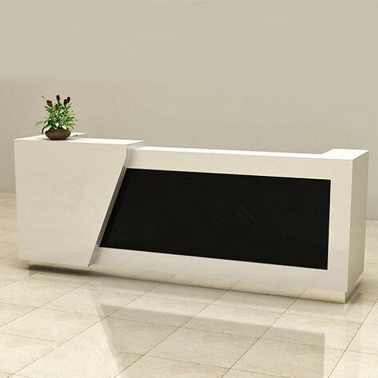 High end hotel reception desk manufacturer modern cheap reception furniture
