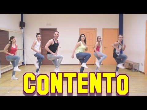 "Balli di Gruppo 2017 "" CONTENTO "" Joey&Rina || TUTORIAL || Line Dance - YouTube"