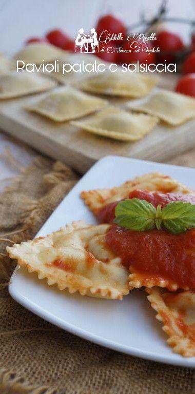 Ravioli patate e salsiccia http://blog.giallozafferano.it/mille1ricette/ravioli-patate-salsiccia/
