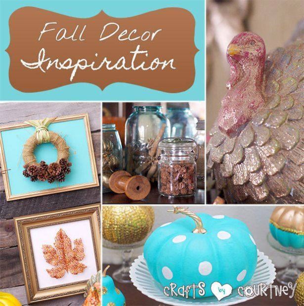 Fall Home Decor Inspiration – My Home: Fall Crafts