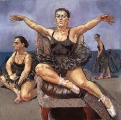 Dancing Ostriches (triptych)