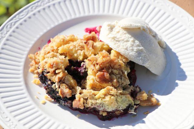 Apple Blueberry Dump Cake