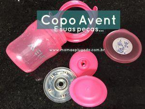 Mecanismo Funcionamento Copo Treinamento Avent - Por dentro e partes do copo