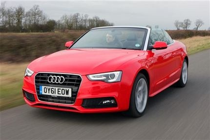 audi a5 convertible s line - now imagine a US license plate on it....mine
