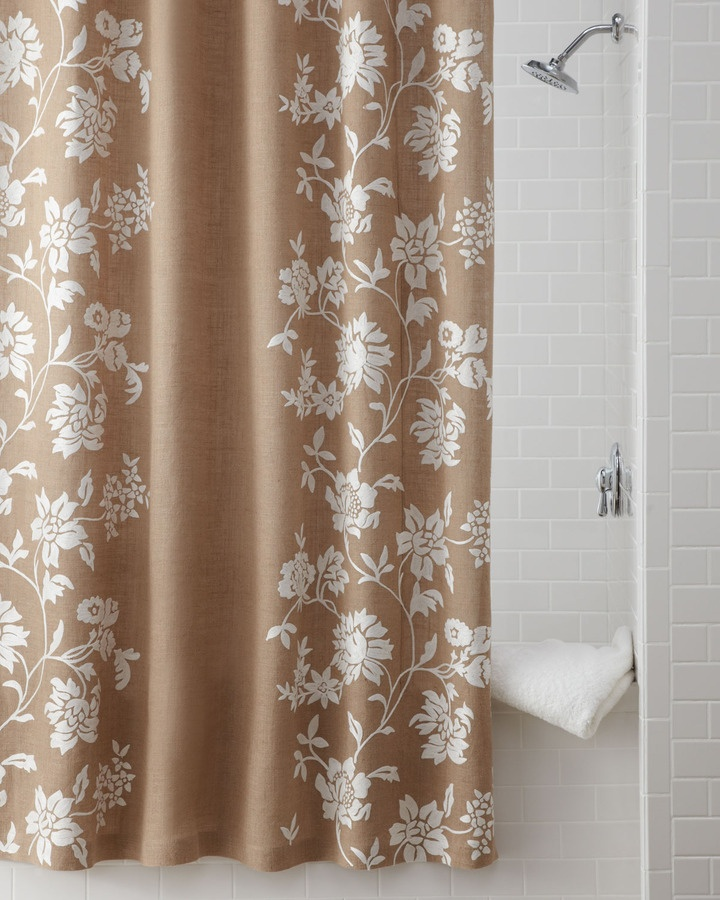 17 Best Images About Shabby Chic Shower Curtains On