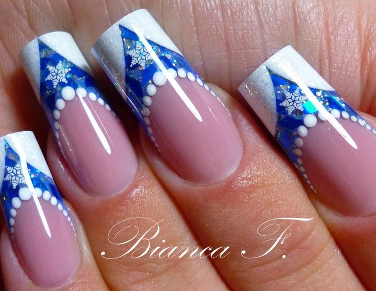 143 best images about christmas nail art design ideas on pinterest christmas nails snowflakes and christmas nail art designs - Nail Art Design Ideas