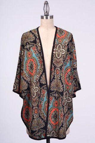 BoHo Kimono Cardigan – Lolavie Boutique