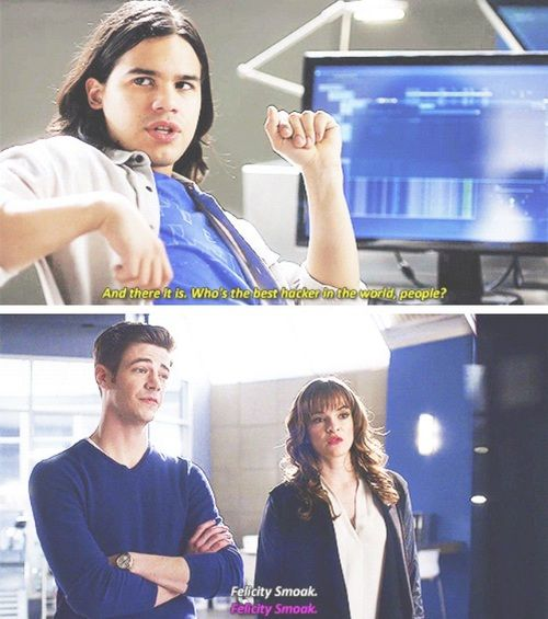 They agree on the right things ~ The Flash Snowbarry
