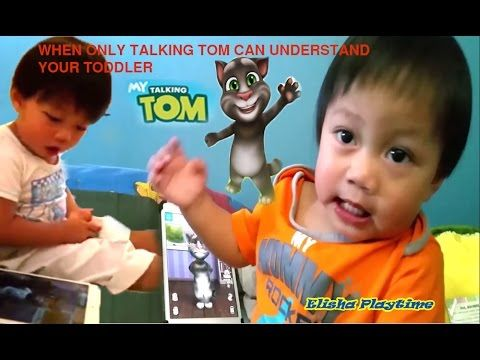 WHEN ONLY TALKING TOM CAN UNDERSTAND YOUR TODDLER CUTE FUNNY BABY VIDEO ...