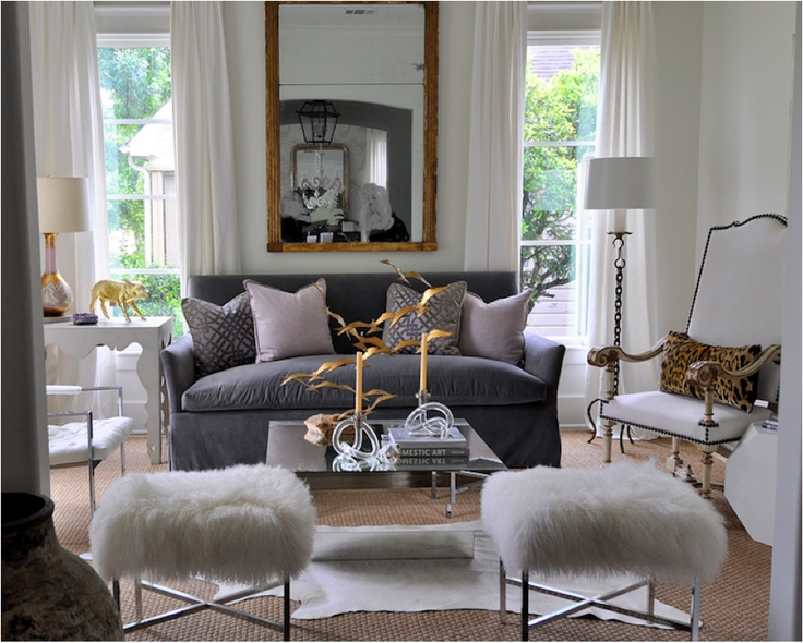 Grey White And Gold Living Room Decor Living Room