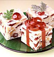 This is a newer tradition for us and a fav of our daughter White Christmas Fudge