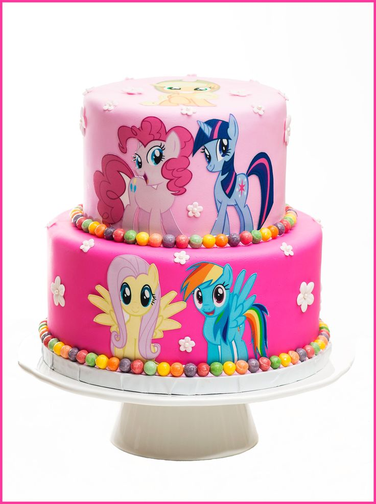 36 best Mlp cake images on Pinterest Birthday party ideas