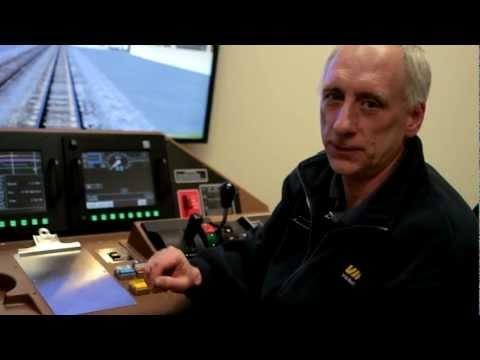 Vidéo: Le simulateur de train de VIA Rail