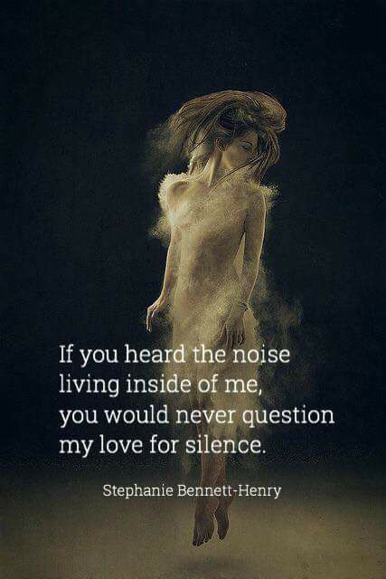This is exactly why I like silence when driving and going to sleep.