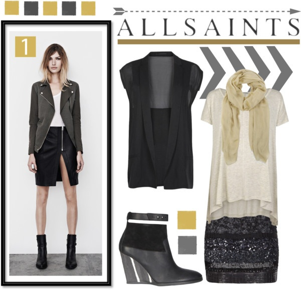 """Allsaints Fashion Trends"" by fashiontake-out on Polyvore"