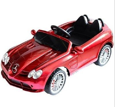 mercedes benz cls kids ride along car 12v outdoor 43 mph luxury toys red new