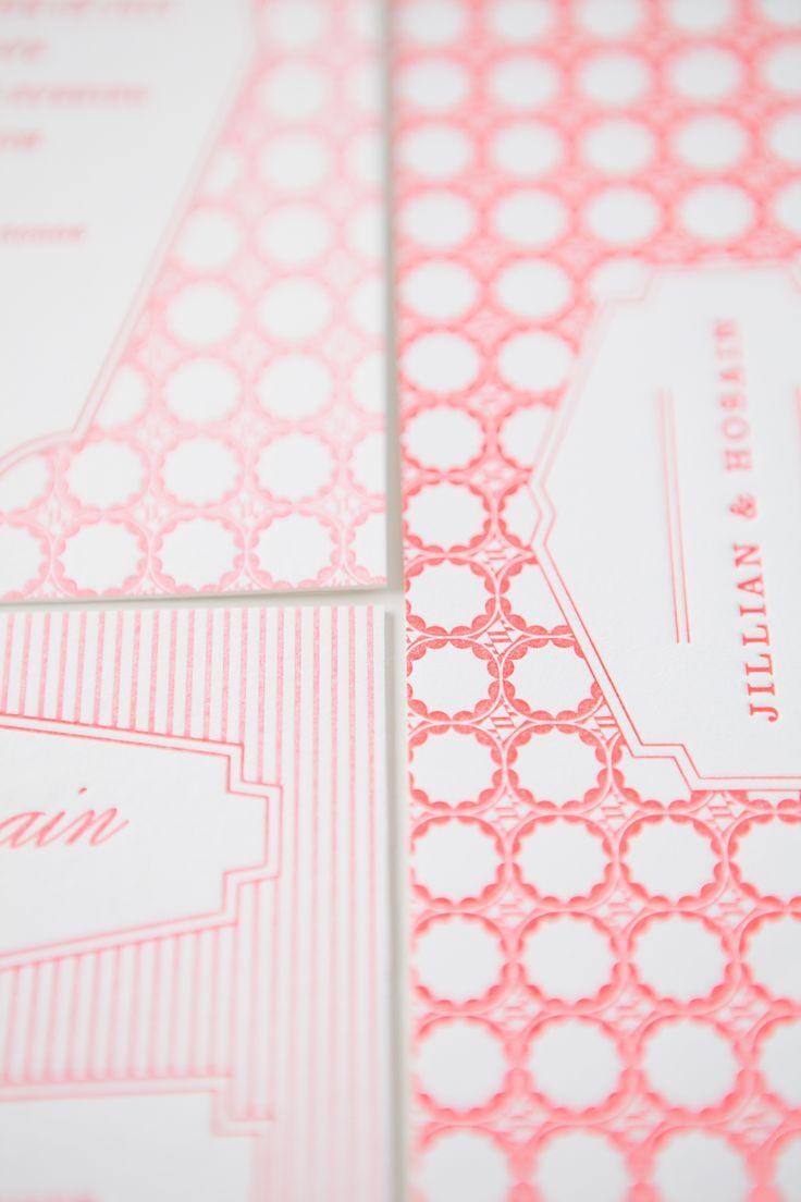 Custom, pink wedding invitation suite | MaeMae Paperie #maemaepaperie <3<3 add #diy www.customweddingprintables.com