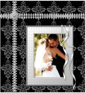 scrapbooking layouts for weddings | Wedding scrapbook ideas to inspire creative results.