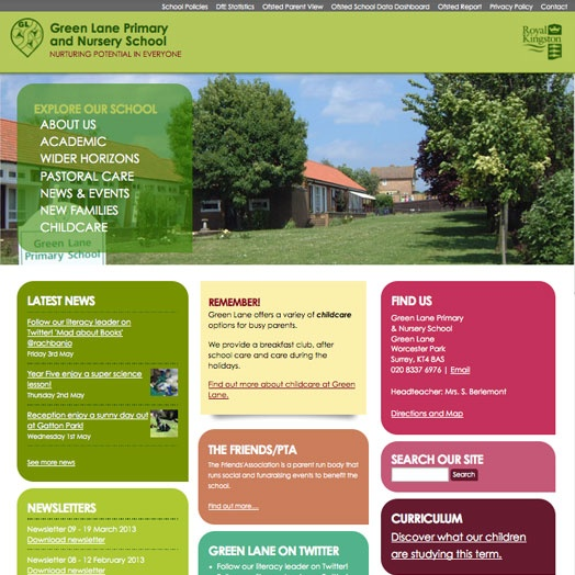 Green Lane Primary and Nursery School  http://glpns.org.uk