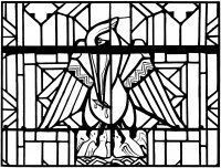 Display image coloriage-adulte-vitrail-pelican-eglise-arthon-en-retz-20es
