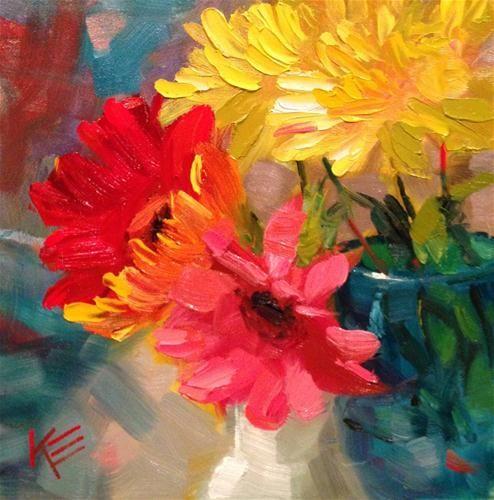 """Missing you"" - Original Fine Art for Sale - © Krista Eaton"