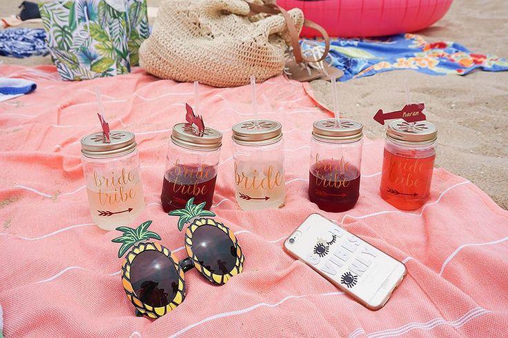 60 beach bachelorette party ideas 18