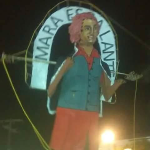 """#Veracruz, en Alvarado """"queman"""" a Mara Escalante"""