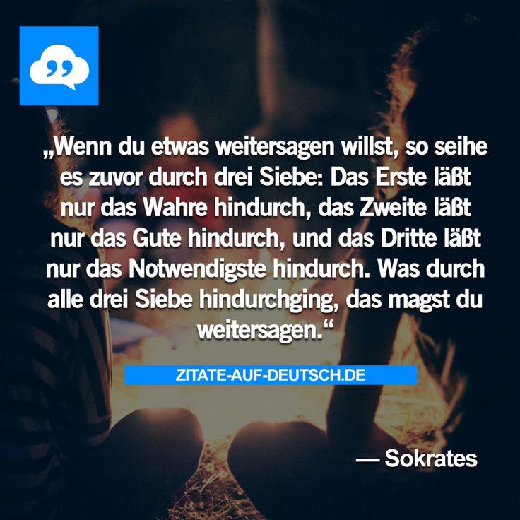 #DreiSiebe, #Notwendig, #Spruch, #Sprüche, #Wahrheit, #Zitat, #Zitate, #Sokrates
