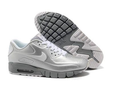 the latest 56601 9294a ... Nike Air Max 90 Silver ...