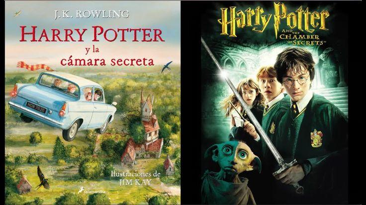 Diferencias Libro y película. Harry Potter y la Cámara Secreta. SPOILER