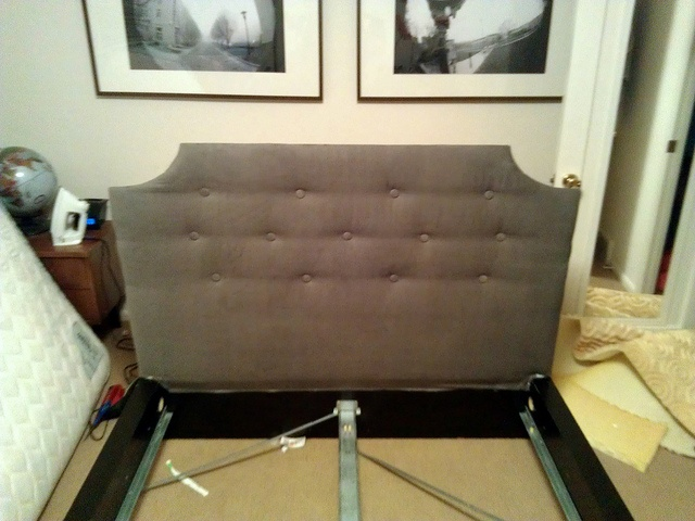 ikea malm bed headboard hack make me pinterest