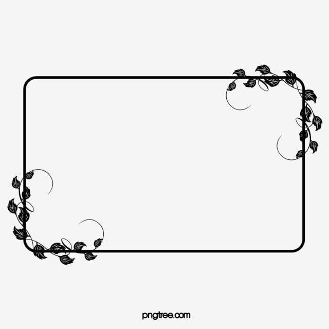 Quadro Padrao Preto E Branco Quadro Clipart Borda Padrao Quadro Imagem Png E Psd Para Download Gratuito Frame Clipart Black And White Lines Clip Art