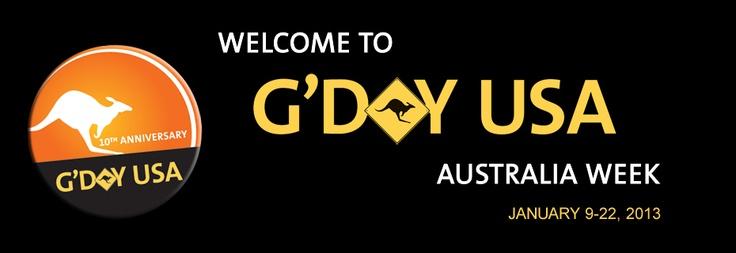 G'DAY USA Australia Week 2013: Favourite Places, Australia Week, Week 2013, 10 Years
