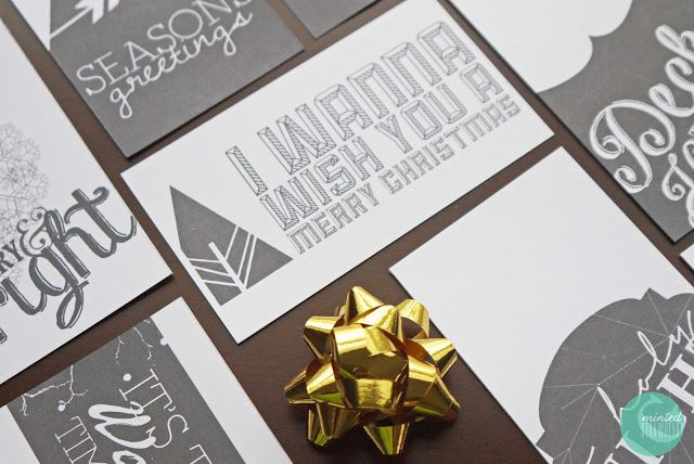FREE PRINTABLE: More Christmas Tags, a Card and a Liebster Award