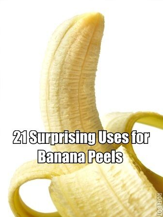 There are many surprising uses for banana peels! They can be used in your home and garden, beautify yourself, and as natural remedy for some skin disorders.