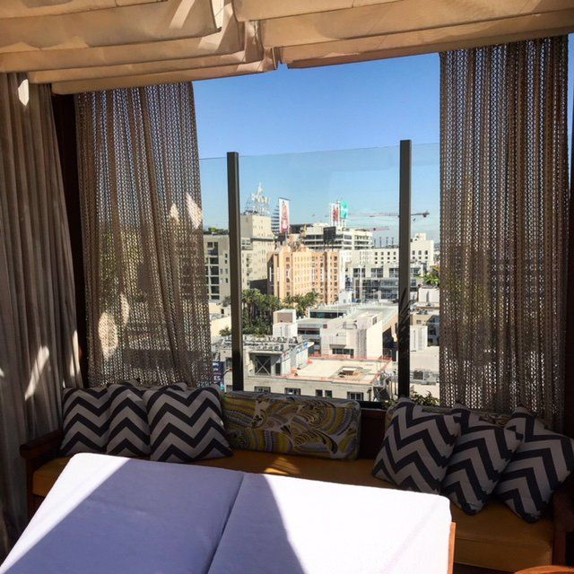 A Hollywood View From Rooftop Pool Cabana At Dream Hotel Los Angeles Glitteraoursla Glitterati Tours Beverly Hills 2018 All You Need To Know