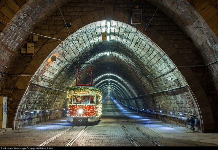 Christmas tram in Bratislava 2013
